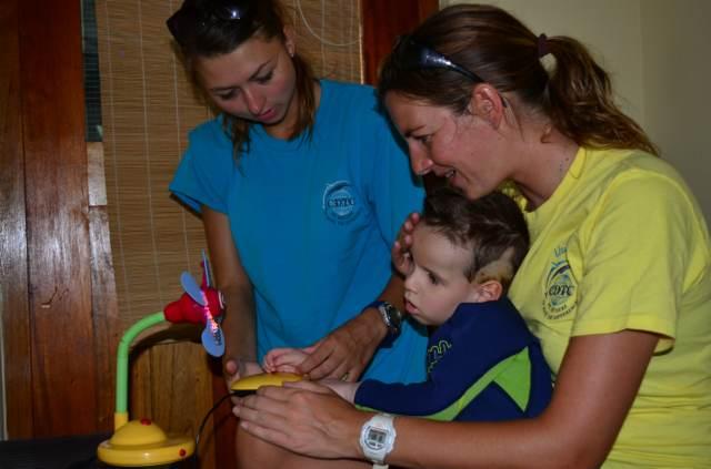 Delphintherapie Curacao 2014: Bild 2 von 66
