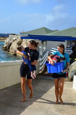 Delphintherapie Curacao 2014: Bild 8 von 66