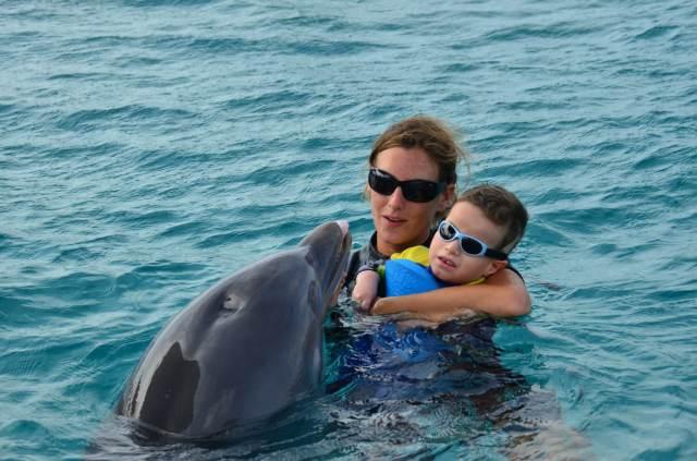 Delphintherapie Curacao 2014: Bild 15 von 66