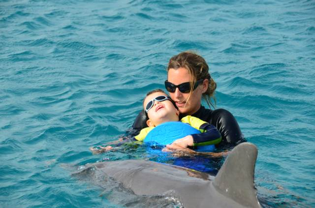 Delphintherapie Curacao 2014: Bild 16 von 66