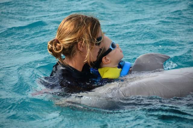 Delphintherapie Curacao 2014: Bild 17 von 66