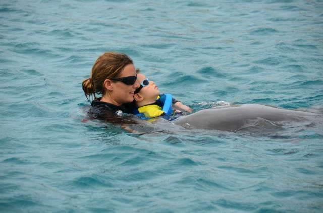 Delphintherapie Curacao 2014: Bild 25 von 66