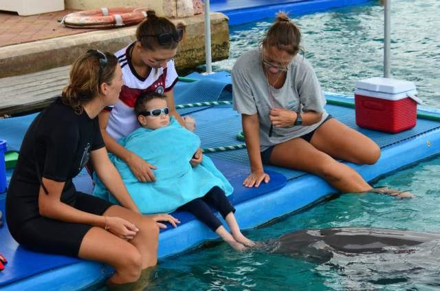 Delphintherapie Curacao 2014: Bild 37 von 66
