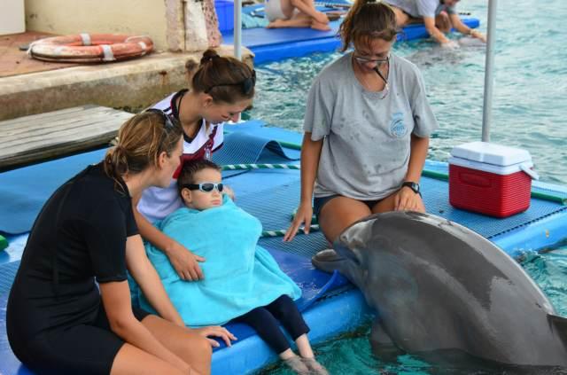 Delphintherapie Curacao 2014: Bild 38 von 66