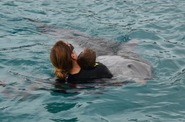 Delphintherapie Curacao 2014: Bild 44 von 66