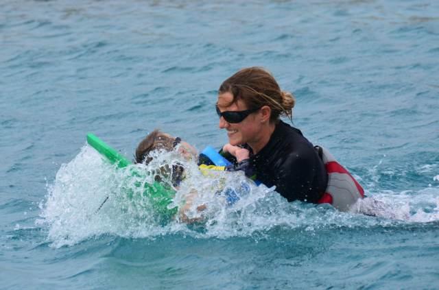 Delphintherapie Curacao 2014: Bild 48 von 66