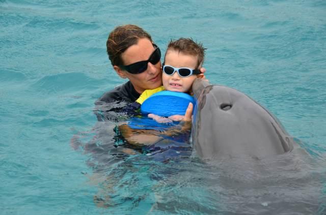Delphintherapie Curacao 2014: Bild 50 von 66