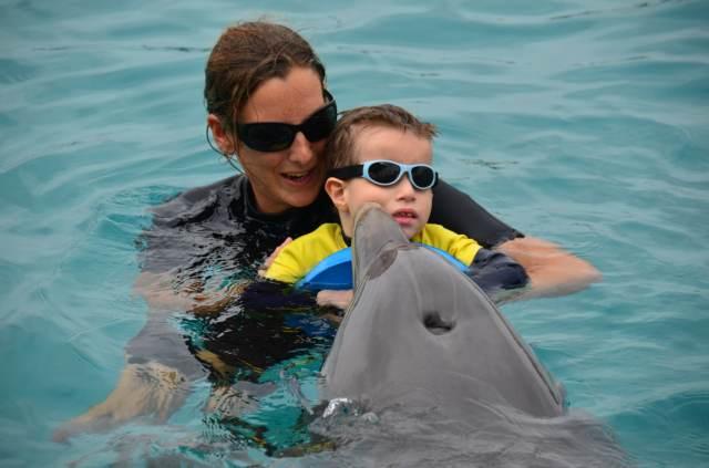 Delphintherapie Curacao 2014: Bild 51 von 66