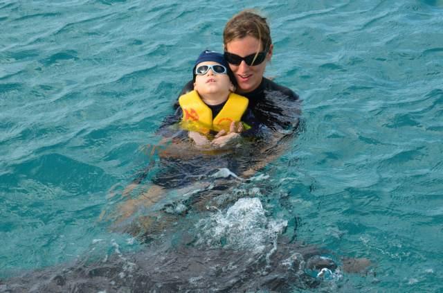 Delphintherapie Curacao 2014: Bild 54 von 66