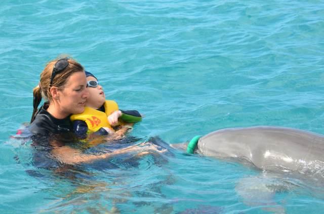 Delphintherapie Curacao 2014: Bild 57 von 66