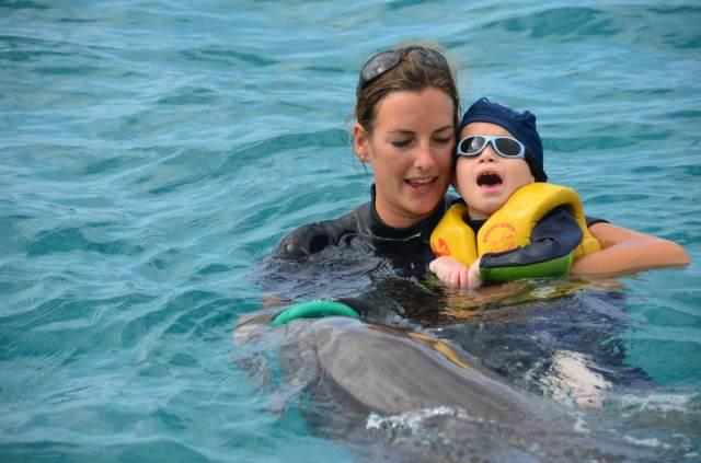 Delphintherapie Curacao 2014: Bild 58 von 66