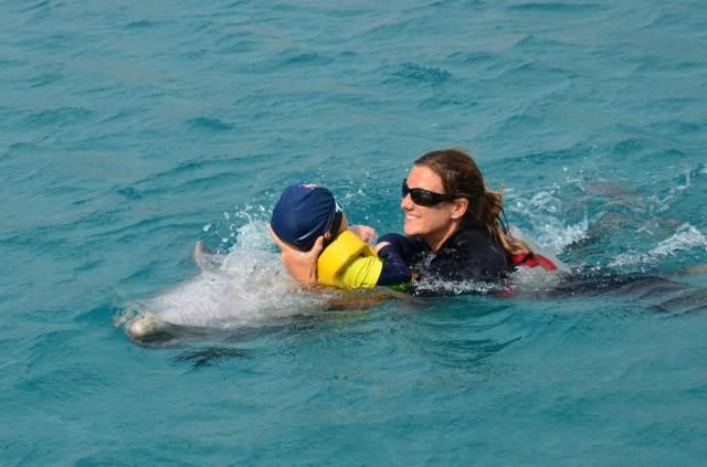 Delphintherapie Curacao 2014: Bild 64 von 66