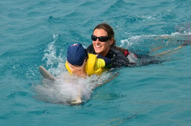 Delphintherapie Curacao 2014: Bild 65 von 66