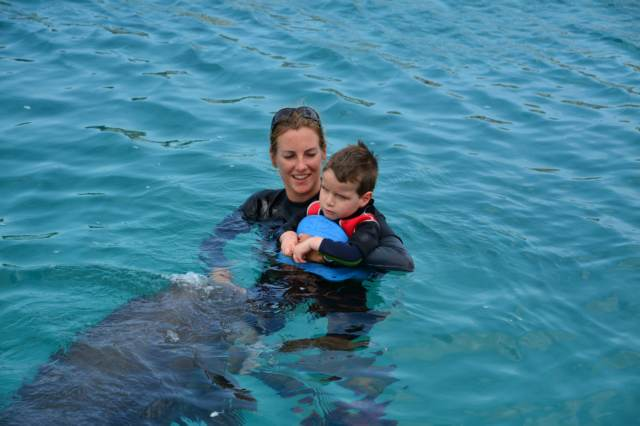 Delphintherapie Curacao 2015: Bild 14 von 47
