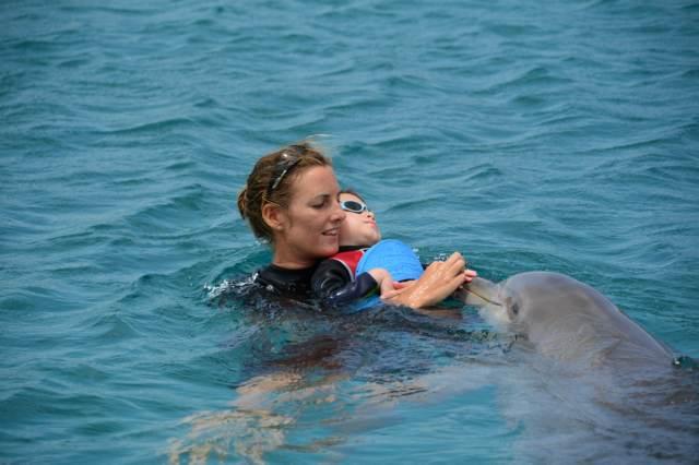 Delphintherapie Curacao 2015: Bild 15 von 47