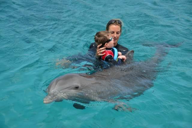 Delphintherapie Curacao 2015: Bild 17 von 47