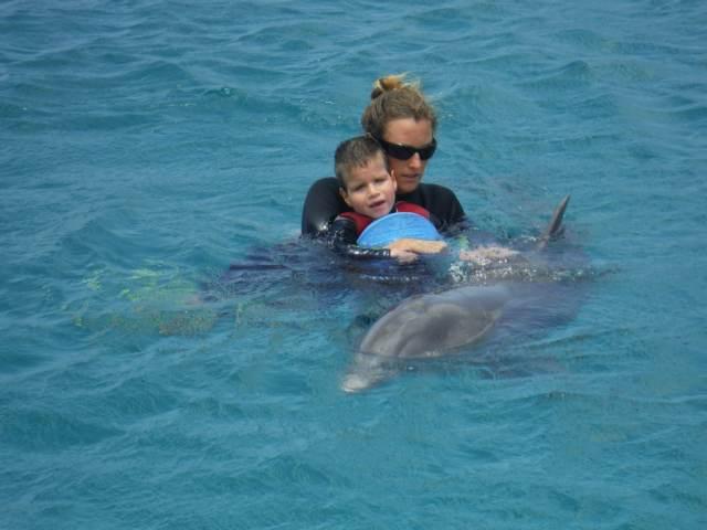 Delphintherapie Curacao 2015: Bild 31 von 47