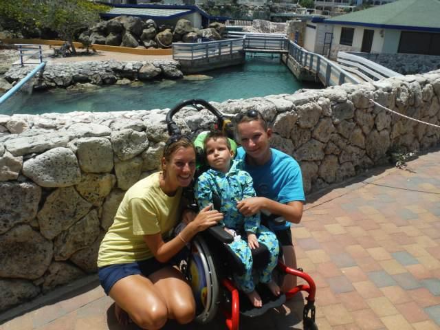 Delphintherapie Curacao 2015: Bild 36 von 47